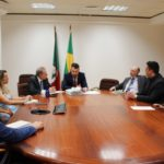 Presidentes do Colégio Registral do RS e IRIRGS reúnem-se com juiz corregedor da CGJ-RS