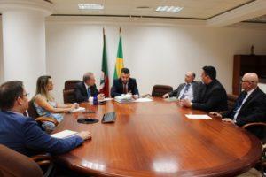 Presidentes do Colégio Registral do RS e IRIRGS reúnem-se com juiz corregedor da CGJ-RS