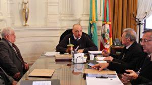 Representantes da classe notarial e registral reúnem-se na Casa Civil do Estado para debater Resolução 80/2009 do CNJ