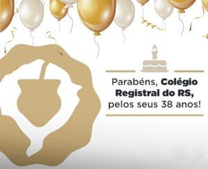 Colégio Registral do RS completa 38 anos de atuação nesta quarta-feira (14.11)