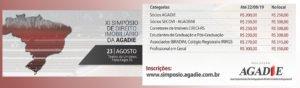 Associados do IRIRGS e do Colégio Registral do RS terão desconto para participar do Simpósio de Direito Imobiliário da Agadie