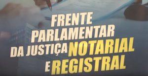 Lançamento da Frente Parlamentar da Justiça Notarial e Registral é destaque no programa Momento Jurídico