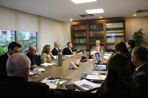 Presidentes de entidades extrajudiciais participam de reunião da Anoreg/RS