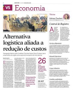Clipping – Jornal VS – Central de Registro