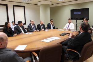 IRIRGS e Colégio Registral do RS reúnem-se com a Corregedoria para tratar do módulo de Penhora Online da CRI-RS