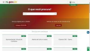 Governo do RS: Novo portal de serviços do Estado alcança mais de 75 mil acessos
