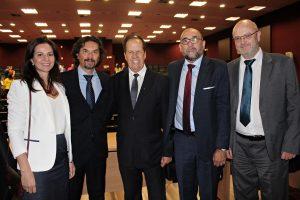 Presidentes das entidades de classe prestigiam posse do novo diretor do Foro da Comarca de Porto Alegre