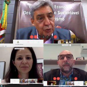 Presidentes de entidades notariais e registrais participam de reunião on-line da Comissão de Economia e Desenvolvimento da AL/RS