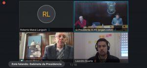 Anoreg/RS participa da 10º reunião do Fórum de Combate ao Colapso Social e Econômico do RS e destaca importância das centrais eletrônicas