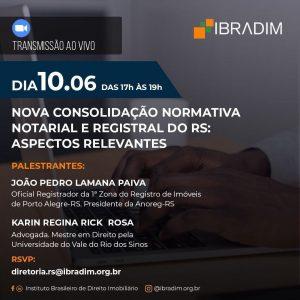 Nova CNNR gaúcha será tema de live nesta quarta-feira (10.06)