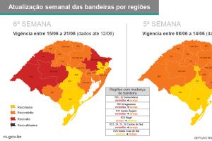 TJ/RS – Ato conjunto esclarece a necessidade de observação do sistema de monitoramento por bandeiras classificatórias para o retorno das atividades presenciais no Judiciário