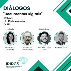 Inscreva-se agora no Webinar Diálogos, sobre Documentos Digitais