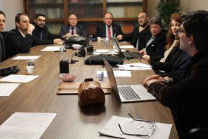Comissão da CRI-RS se reúne com delegado da Divisão de Inteligência Financeira para tratar sobre convênio com Polícia Civil