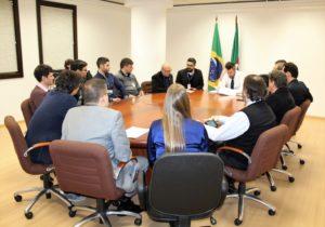 Representantes do Fórum de Presidentes reúnem-se com a Corregedoria para debater Ofício-Circular nº 078/2018 da CGJ-RS