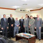 Fórum de Presidentes reúne-se com presidente do TJ/RS para deliberar sobre o PL 195