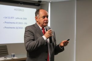 Central de Registros de Imóveis é tema de palestra no 2º Curso de Instrução aos Novos Delegatários