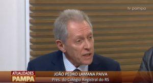 Colégio Registral participa do programa Pampa Atualidades e esclarece sobre os serviços extrajudiciais