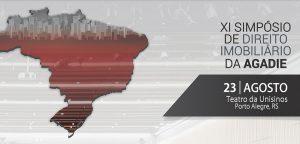 Associados do IRIRGS e do Colégio Registral do RS terão desconto para participar do Simpósio de Direito Imobiliário da Agadie nesta sexta-feira (23.08)