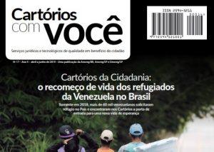 Leia a nova edição da revista Cartórios com Você