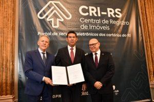 TJ/RS: Lançamento de novo serviço à população no registro de imóveis é prestigiado pelo TJ/RS