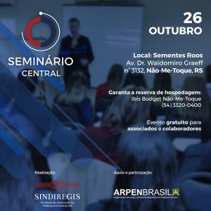 Seminário Central promove debates com foco nas centrais de registro