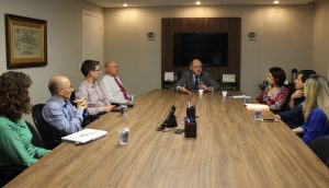 IRIRGS reúne-se com a Caixa Econômica para debater a CRI-RS