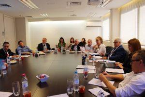 Presidentes das entidades extrajudiciais reúnem-se na sede do Iepro/RS para debater assuntos da classe