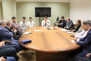 Representantes da classe extrajudicial e CGJ/RS reúnem-se para debater assuntos de interesse