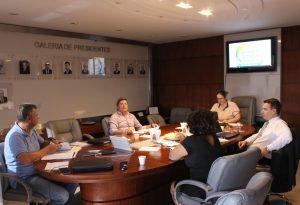 Comissão organizadora do XIV Encontro Notarial e Registral do RS reúne-se com presidente do CNB/RS