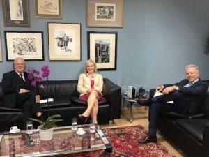 Anoreg/RS reúne-se com nova corregedora-geral da Justiça