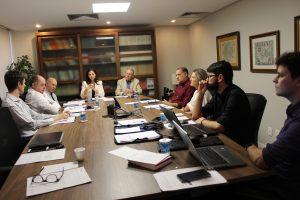 IRIRGS reúne membros da Diretoria para primeira reunião mensal de 2020