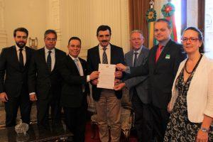 Anoreg/RS reúne-se com secretário-chefe da Casa Civil do RS