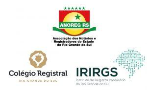 Anoreg/RS, Colégio Registral do RS e IRIRGS divulgam Nota Conjunta de Diretoria nº 03/2020 sobre Lei nº 13.986/2020